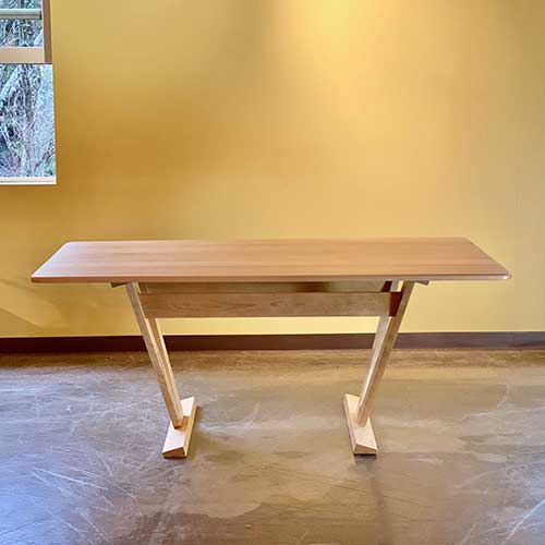 Caledonia Trestle Dining Table 255209