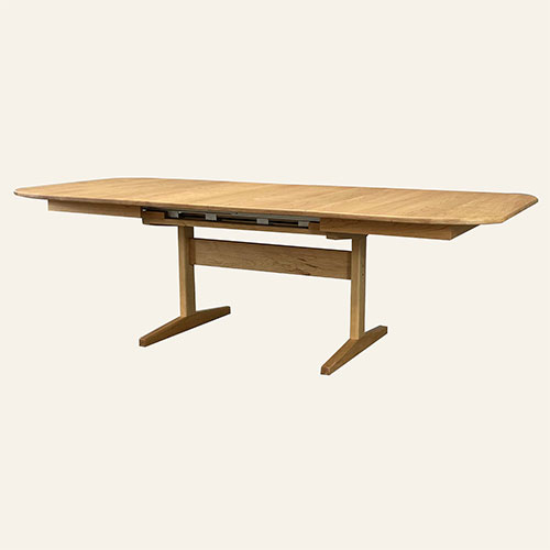 Designer Trestle Extension Table 257254