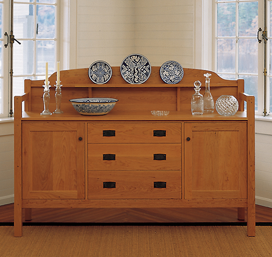 Solid Wood Brandon Mission Buffet
