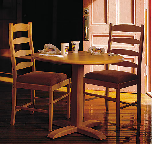 solid wood dining furniture handcrafted in Vermont