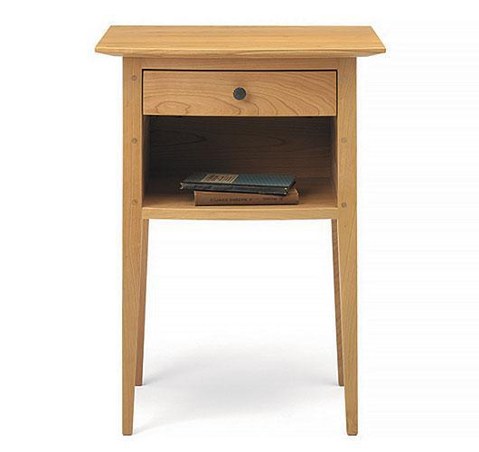 Solid wood shaker style bedroom night table