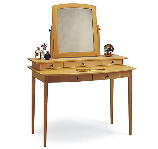 solid wood dressing table handcrafted in Vermont
