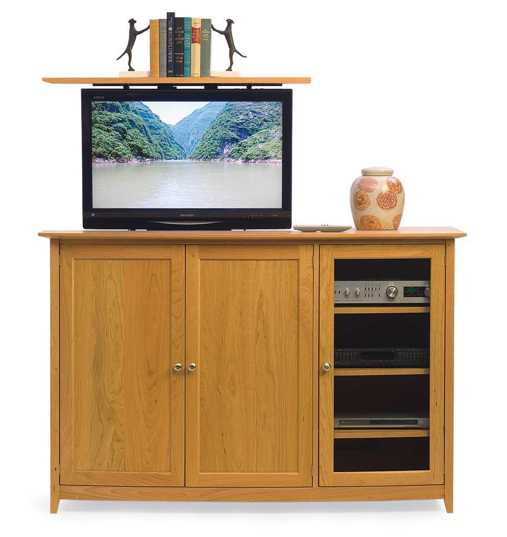 Solid wood Chelsea TV Lift Cabinet