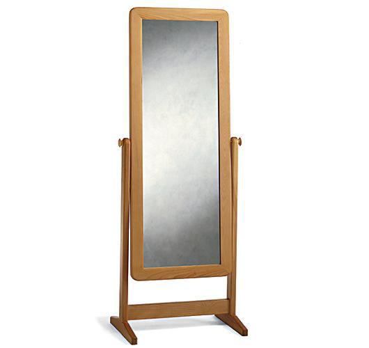 Contemporary cheval wall mirror from Vermont