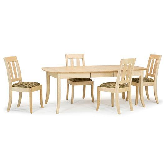 Vermont solid wood dining room extension tables