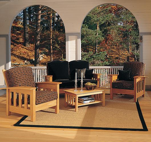 Beautiful Handmade Hardwood Upholstered Furniture