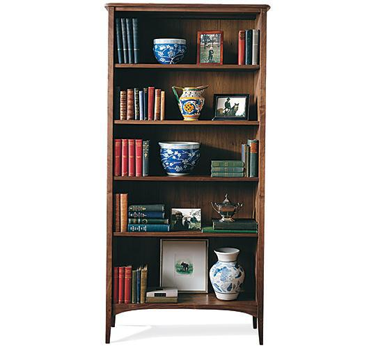 solid wood bookcase shaker handcrafted in Vermont