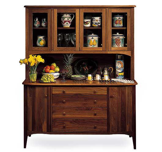solid wood dining room buffet handcrafted in VT