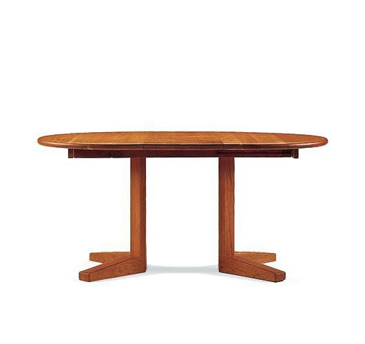 solid wood dining room extension table