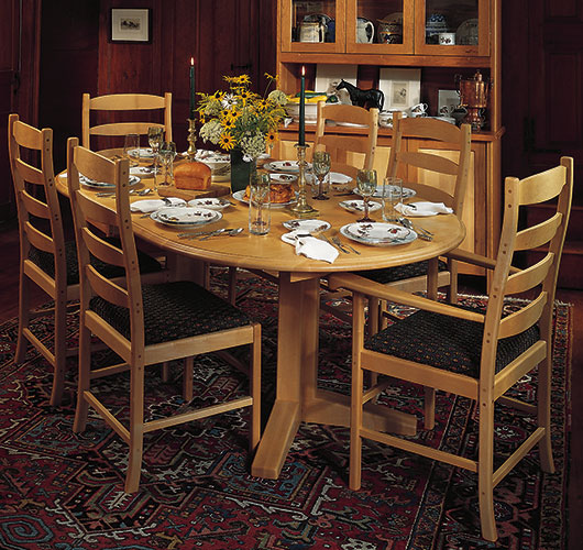 solid wood dining room extension tables
