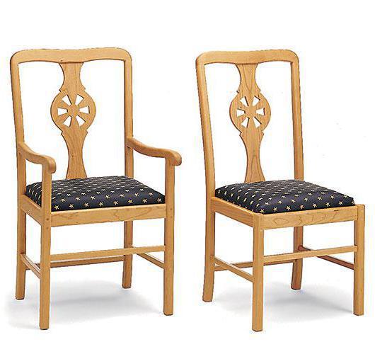 Elegant Solid Wood Dining Room Furniture Handcrafted In VT