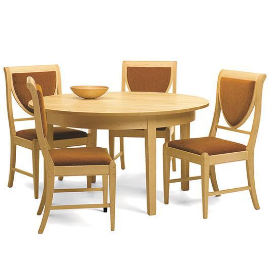 solid wood dining room furniture handcrafted in VT