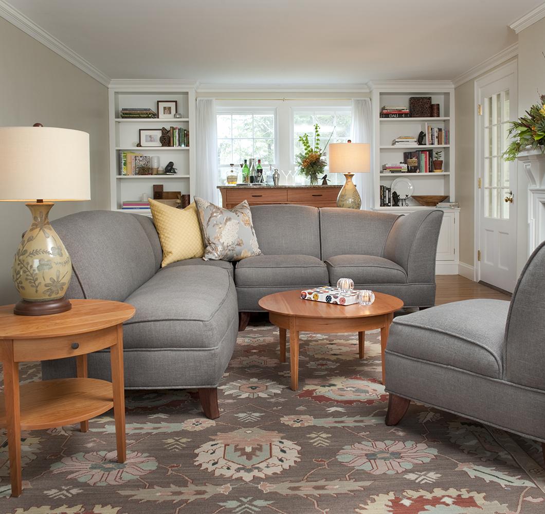 living room seating. calis livingroom Pompanoosuc Mills