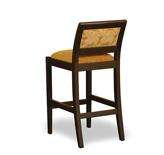 solid wood barstool handmade in Vermont