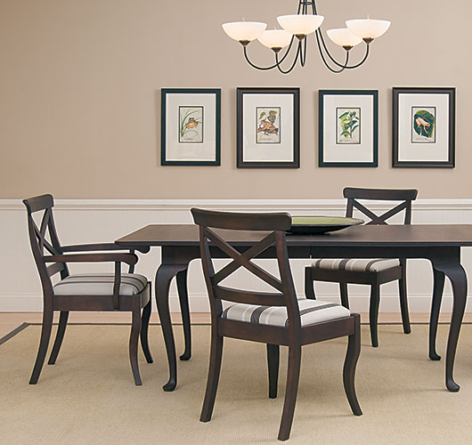 High Quality Solid Wood Dining Furniture Handcrafted In Vermont