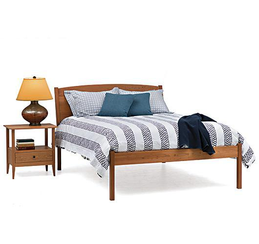 Waterbury Bed in solid cherry wood