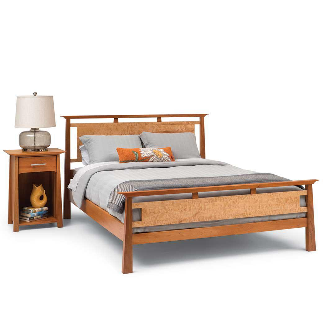 Mendon Bed and Night Table
