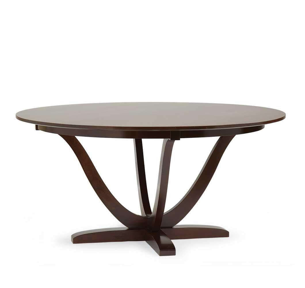 goddard solid birch round dining table