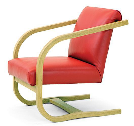 modern style bent wood chair