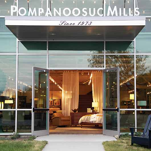 THIS LOCATION IS OUR FLAGSHIP SHOWROOM As Well As The Workshop Where All  Pompanoosuc Mills Solid Wood Furniture Is Handcrafted To Your Order.