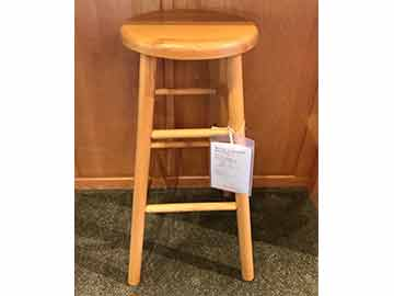 Simple Roundtop Barstool